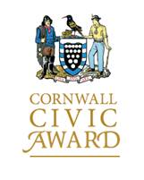 The Cornwall Civic Award Crest